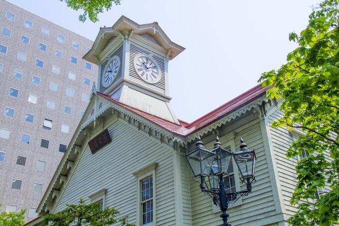 札幌の時計塔