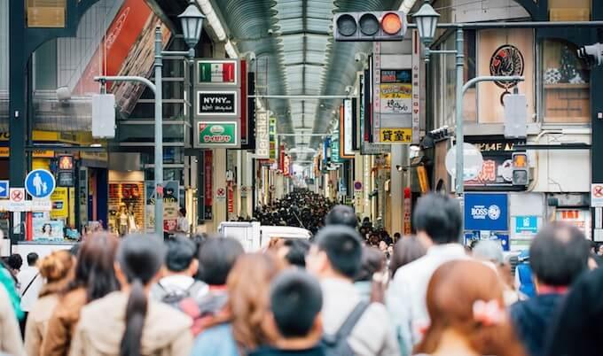 大阪の商店街